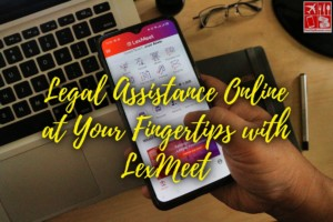 Get your legal assistance online with LexMeet