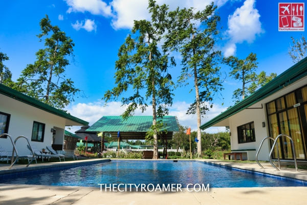 One of the swimming pool at Kahariam Farms and Resort
