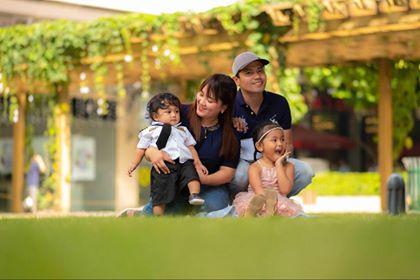 Family time for Nino Castroverde