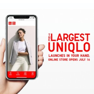 UNIQLO Online Store to open on July 16
