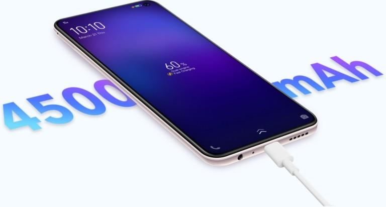 Vivo V19 Neo charging