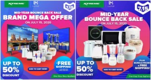 XTREME Appliances Deals on July 15 Lazada Sale