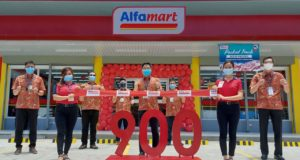 Alfamart keeps growing as it reaches 900th store