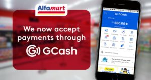 GCash Payment soon in all Alfamart stores