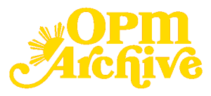The OPM Archive logo