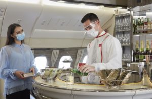Emirates offer redesigned onboard experience