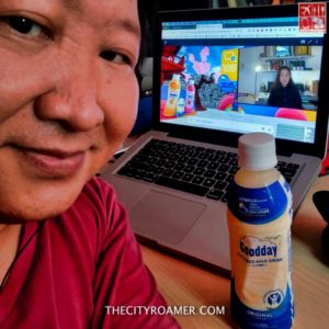 I attended the Goodday Cultured Milk Virtual Launch while enjoying the milk