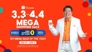 Willie Revillame revealed as the Shopee 3.3-4.4 Mega Shopping Sale Brand Ambassador