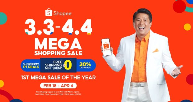Willie Revillame revealed as the Shopee 3.3-4.4 Mega Shopping Sale Brand Ambassador