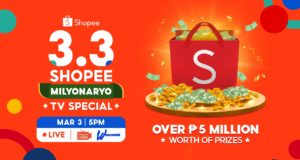 3.3 Shopee Milyonaryo TV Special on GMA 7's Tutok to Win