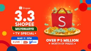 3.3 Shopee Milyonaryo TV Special on GMA 7's Tutok to Win