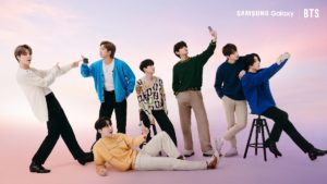 Get your Galaxy S21 Series 5G like the BTS