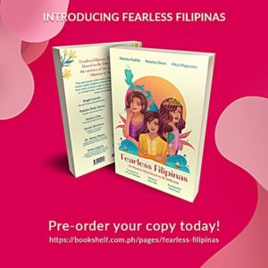 Pre-order the Fearless Filipinas book