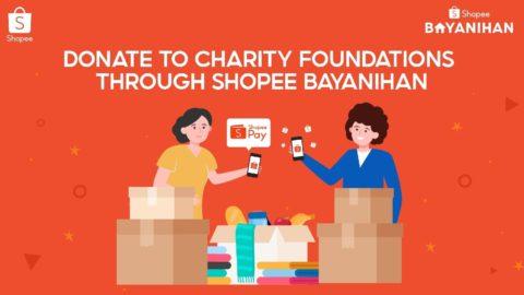 Donate to Charity Institutions via Shopee Bayanihan