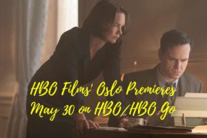 HBO Films' Oslo Premieres 30 May on HBO and HBO Go
