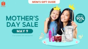 Shopee Mother's Day Sale 2021