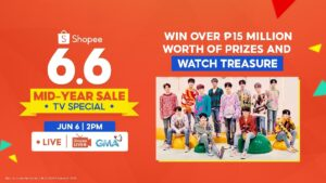 Deals and K-Pop Treasure at Shopee Mid-Year Sale TV Special