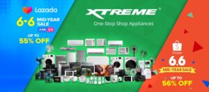 Huge savings on XTREME Appliances at the Lazada and Shopee Mid-Year Sale