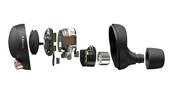 Sony WF-1000XM4 Wireless Noise Cancelling Headphones Technology