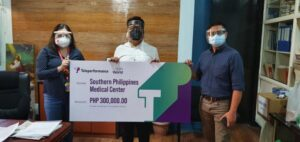 Teleperformance Philippines Citizen of the World donates to Southern Philippines Medical Center to support Davao frontliners