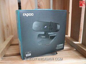 Rapoo C280 in the box