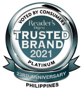 Philippines Platinum Most Trusted Brand for 2021