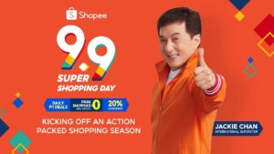 Jackie Chan on Shopee Kicks off Year-end Shopping Season