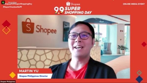 Shopee Philippines Director Martin Yu #ShopeePH99SuperShoppingDay