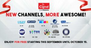 CIGNAL Offers Free Viewing for 11 New Channels