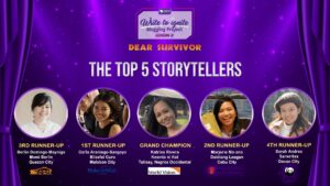 ComCo Southeast Asia - Write to Ignite Blogging Project Season 2 - Top 5 Storytellers