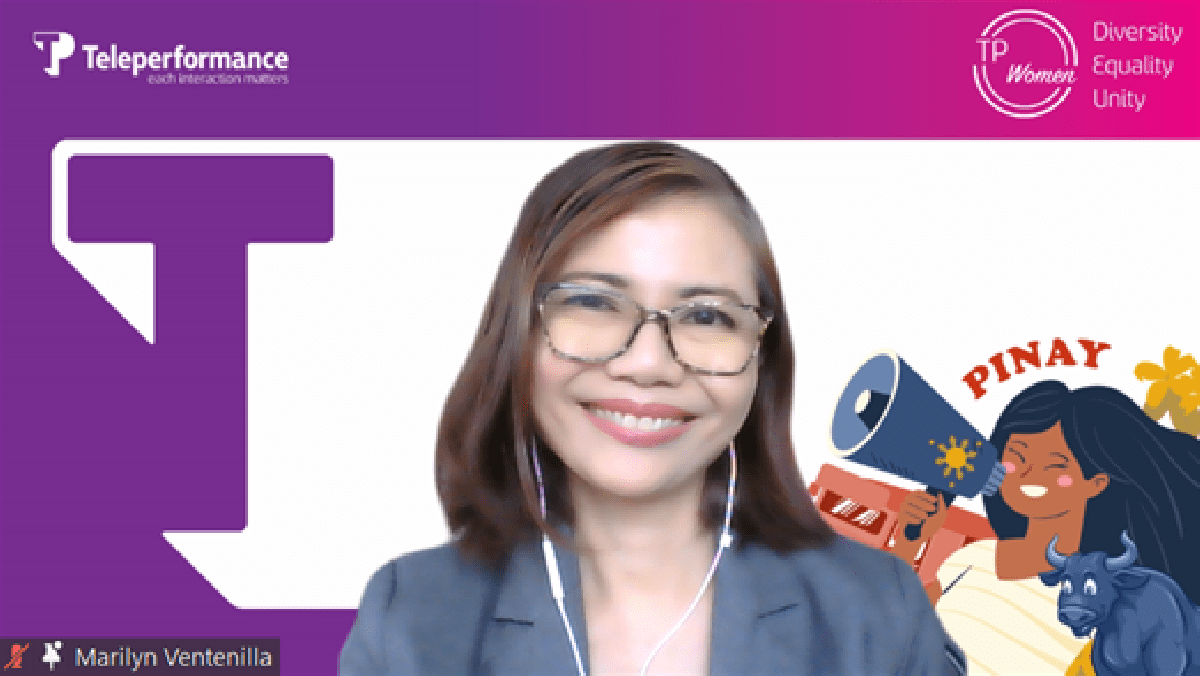 Teleperformance Philippines Marilyn Romero-Ventenilla, Senior Director for Communication and Marketing talks about gender-neutral workplace