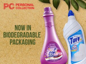 Personal Collection Flagship Products in Biodegradable Packaging