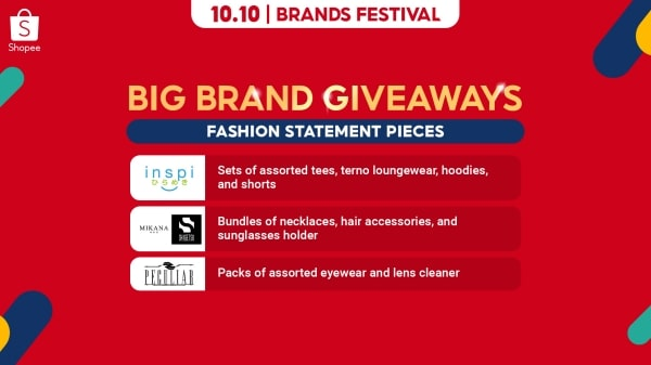 Big brand giveaways to complete your fashion statement