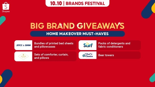 Get instant home makeover must-haves from big brands