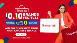 Kim Chiu is the Shopee brand ambassador for the 10-10 Big Brand Festival